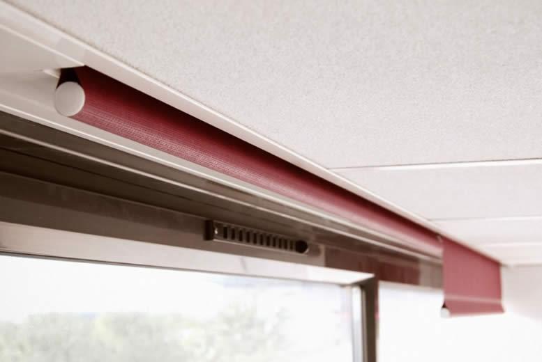 Store Plafond Fixation Encastrable Invisible Rideau Store Design